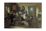 Seeing Them Off Giclee Print by Thomas Faed