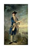 Captain the Hon. Robert Boyle Walsingham M.P. (1736-80), 1760 Giclee Print by Nathaniel Hone