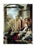 The Death of Brunelleschi, 1852 Giclée-Druck von Frederick Leighton