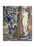 The Rock of Doom, C.1876 Giclee Print by Sir Edward Coley Burne-Jones