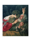 The Liberation of St. Peter, 1624 Giclee Print by Hendrick Terbrugghen