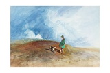 The Shepherd on the Hill, 1831 Giclee Print by John Sell Cotman