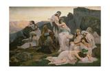 Jephthahs's Daughter, 1876 Giclee Print by Edouard Debat-Ponsan