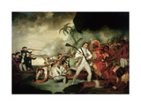 The Death of Captain Cook (1728-79), 1781 Giclee Print by George Carter