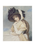 Emma, Engraved and Pub. by John Jones (C.1745-97), 1785 (Stipple) Giclee Print by George Romney