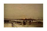 Winter Scene Giclee Print by Ludwig Munthe