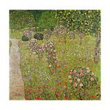 Orchard with Roses (Obstgarten Mit Rosen) Giclée-Druck von Gustav Klimt