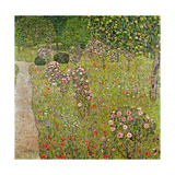 Orchard with Roses (Obstgarten Mit Rosen) Giclee Print by Gustav Klimt