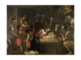 The Adoration of the Shepherds Giclee Print by Mattia Preti