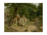 Playmates, 1867 Giclee Print by William McTaggart