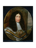 Portrait of King Charles II (1630-85) Giclee Print by Pieter Nason