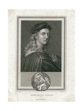 Raffaello Sanzio, Called Raphael, Engraved by Corner Reproduction procédé giclée par  Raphael