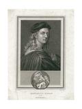 Raffaello Sanzio, Called Raphael, Engraved by Corner Giclee Print by  Raphael
