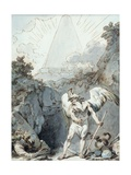 Reflections for Apprentices, C.1787 Giclee Print by Philip James De Loutherbourg
