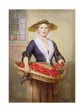 Cherry Ripe Giclee Print by William Frederick Yeames