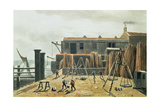 Steelyard, 1811 Giclee Print by George Shepherd