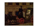 Pamela Leaves Mr B's House in Bedfordshire, from 'Pamela: or Virtue Rewarded' by Samuel… Giclee Print by Joseph Highmore