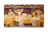 A Summer Night, 1890 Giclee Print by Albert Joseph Moore