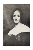 Mary Wollstonecraft Shelley (1797-1851) Giclee Print by Richard Rothwell