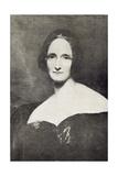 Mary Wollstonecraft Shelley (1797-1851) Giclee Print by Richard Rothwell