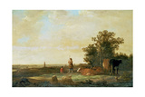 View on a Plain Giclee Print by Aelbert Cuyp