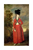 Lady Worsley, C.1775-79 Giclee Print by Sir Joshua Reynolds