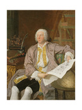 Count Carl Gustaf Tessin (1695-1770) Giclee Print by Jacques Andre Joseph Camelot Aved