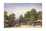 Festival at St. Cloud, C.1860 Giclee Print by William Wyld
