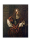 Portrait of John Wilmot (1647-80) 2nd Earl of Rochester Giclee Print by Sir Peter Lely