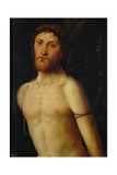 Christ Tied to the Column Giclee Print by Lorenzo Costa