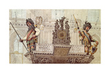 Gog and Magog, 1809 Giclee Print by George Shepherd