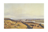 Battle of Montereau, 18th February 1814, 1840 Giclee Print by Jean Antoine Simeon Fort