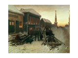 The Last Tavern at the City Gates, 1868 Giclee Print by Vasili Grigorevich Perov