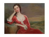 Portrait of a Lady Giclee Print by Charles Jervas