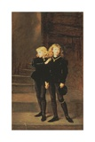 The Princes Edward and Richard in the Tower, 1878 Giclee Print by Sir John Everett Millais