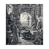 Death as Friend, 1851 Giclee Print by Alfred Rethel