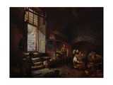 Sheffield Scythe Tilters Giclee Print by Godfrey Sykes