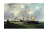 The 'Great Western' Off Portishead, 1838 Giclee Print by Joseph Walter