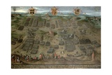 The Battle of Moncontour, 30 October 1569, 1587 Giclee Print by Jan Snellinck