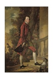 Portrait of Charles, 9th Viscount Irwin Giclee Print by Benjamin Wilson