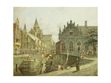 The Canal Lock, 1797 Giclee Print by Johannes Huibert Prins