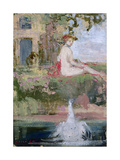 Leda and the Swan Giclee Print by Charles Edward Conder