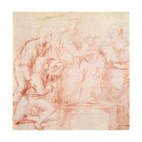 Study for a 'sacre Conversazione' Reproduction procédé giclée par  Raphael