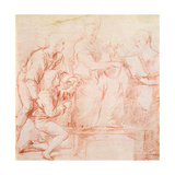 Study for a 'sacre Conversazione' Giclee Print by  Raphael