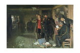 The Arrest of the Propagandist, 1880-89 Giclee Print by Ilya Efimovich Repin