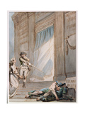 Painting for the Apprentices' Lodge, C.1787 Giclee Print by Philip James De Loutherbourg