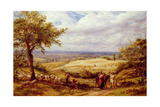 The Wayfarers, C.1872 Giclee Print by James Thomas Linnell