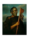 Tamati Waka Nene (C.1785-1871), 1890 Giclee Print by Gottfried Lindauer