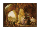 The Temptation of St. Anthony, 1781 Giclee Print by Louis Joseph Watteau