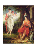 Venus and Anchises, 1826 Giclee Print by Benjamin Robert Haydon
